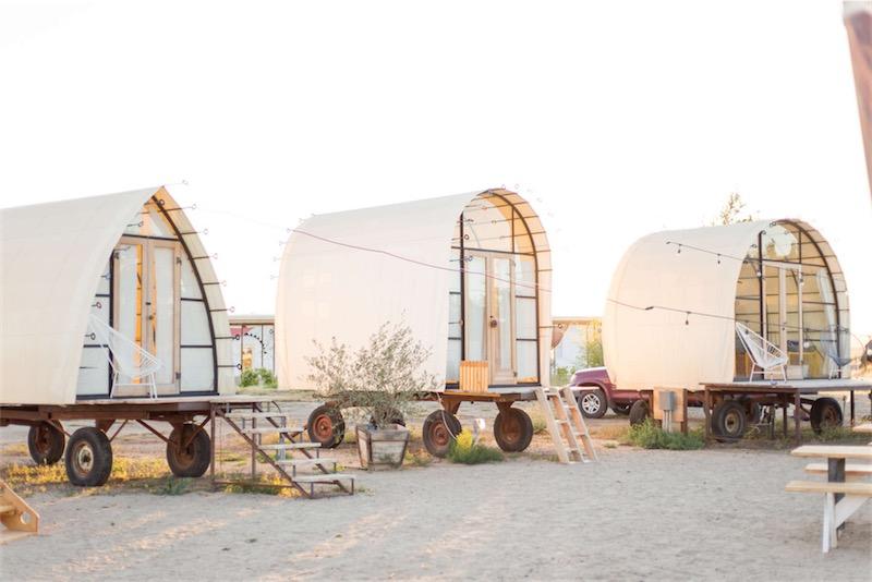 glamping campeggio alternativo